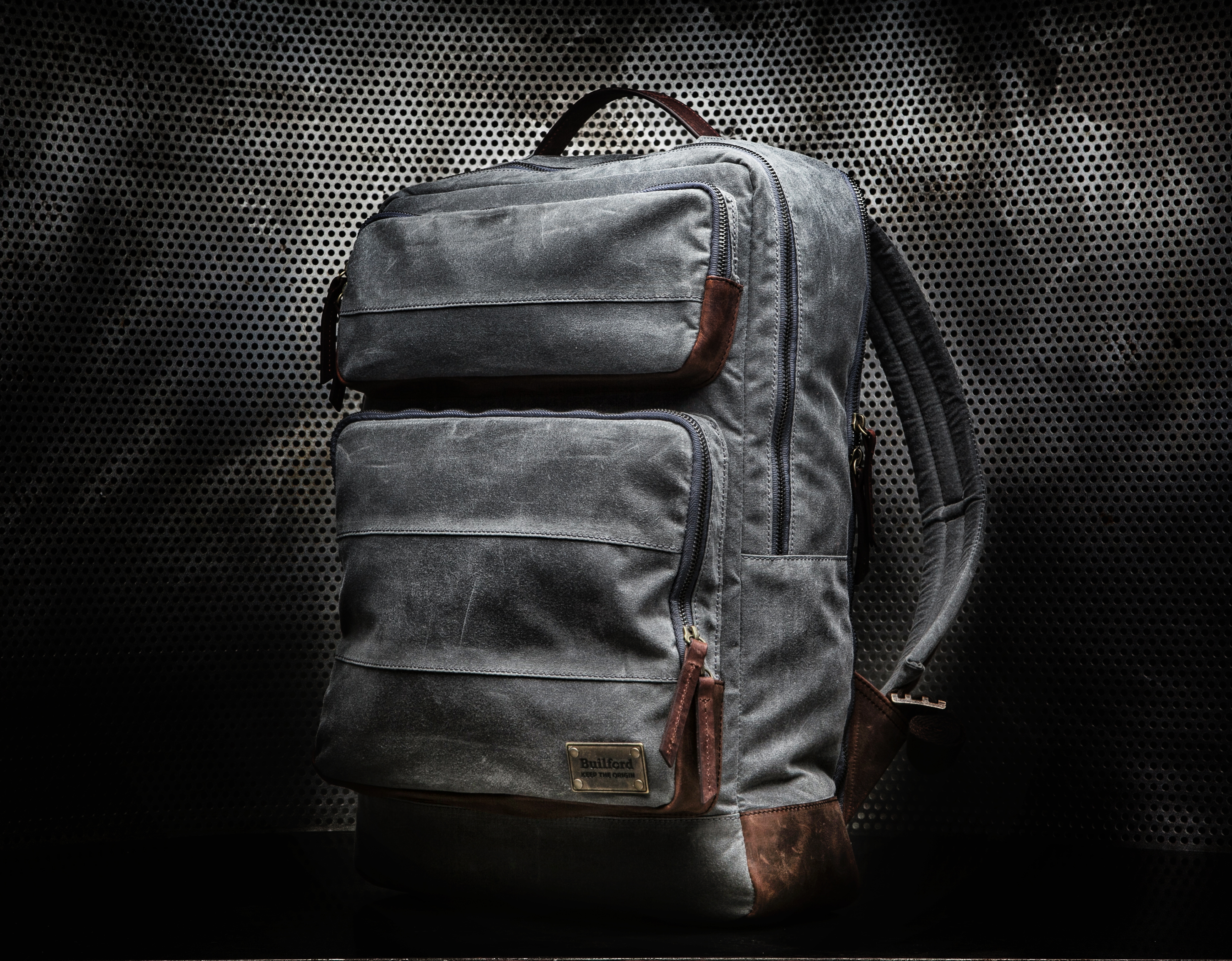 Builford Large Laptop Backpack | D. Editor