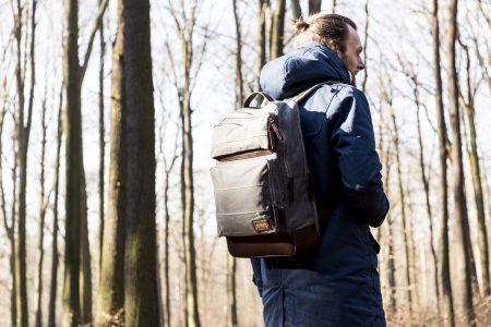 waxed canvas hiking backpacks